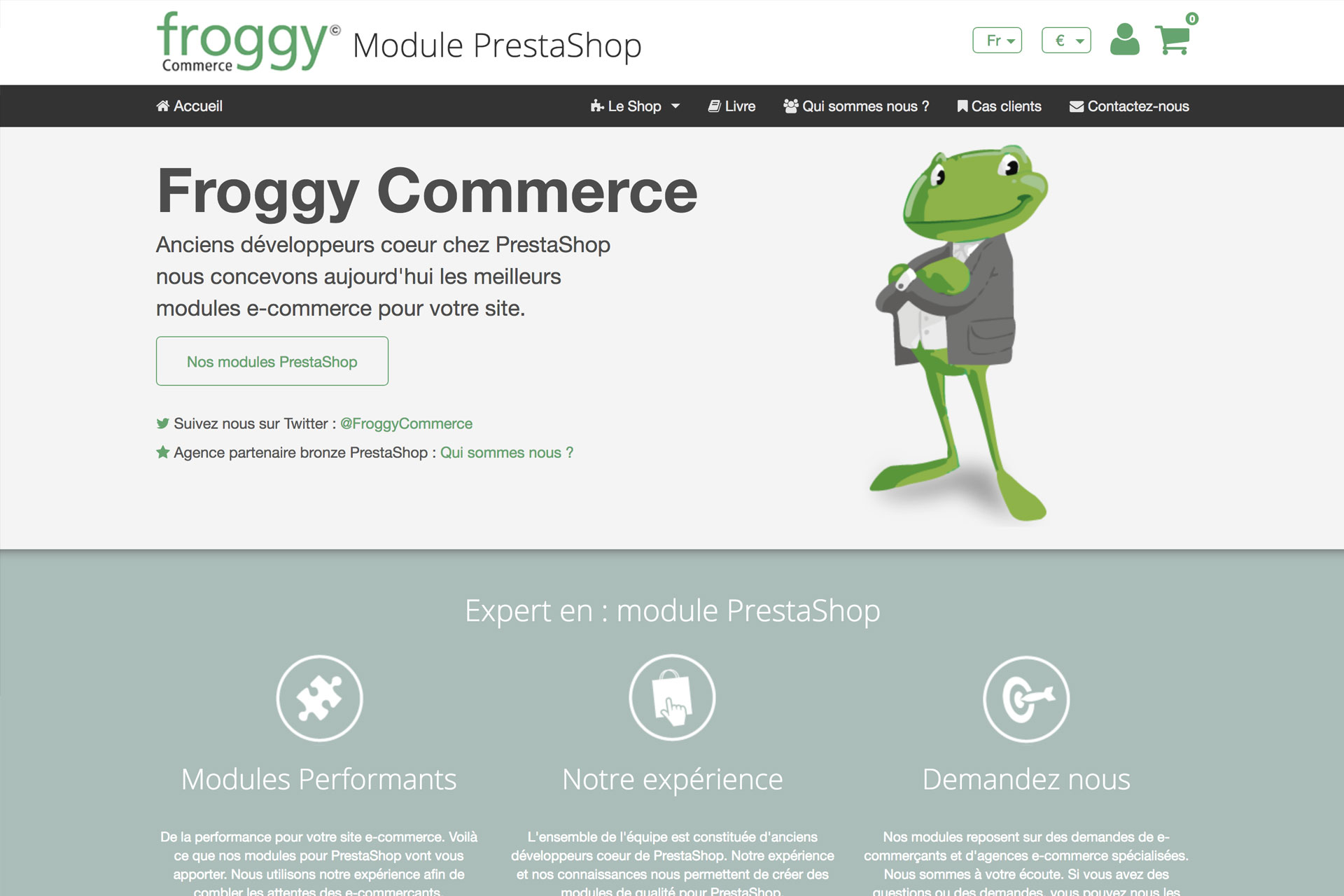 Froggy Commerce - 23Prod